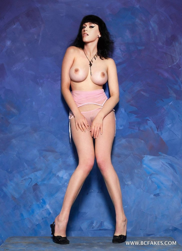 Katy Perry bare
