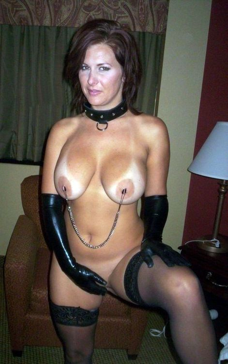 Huge-chested chiseled damsel takes..