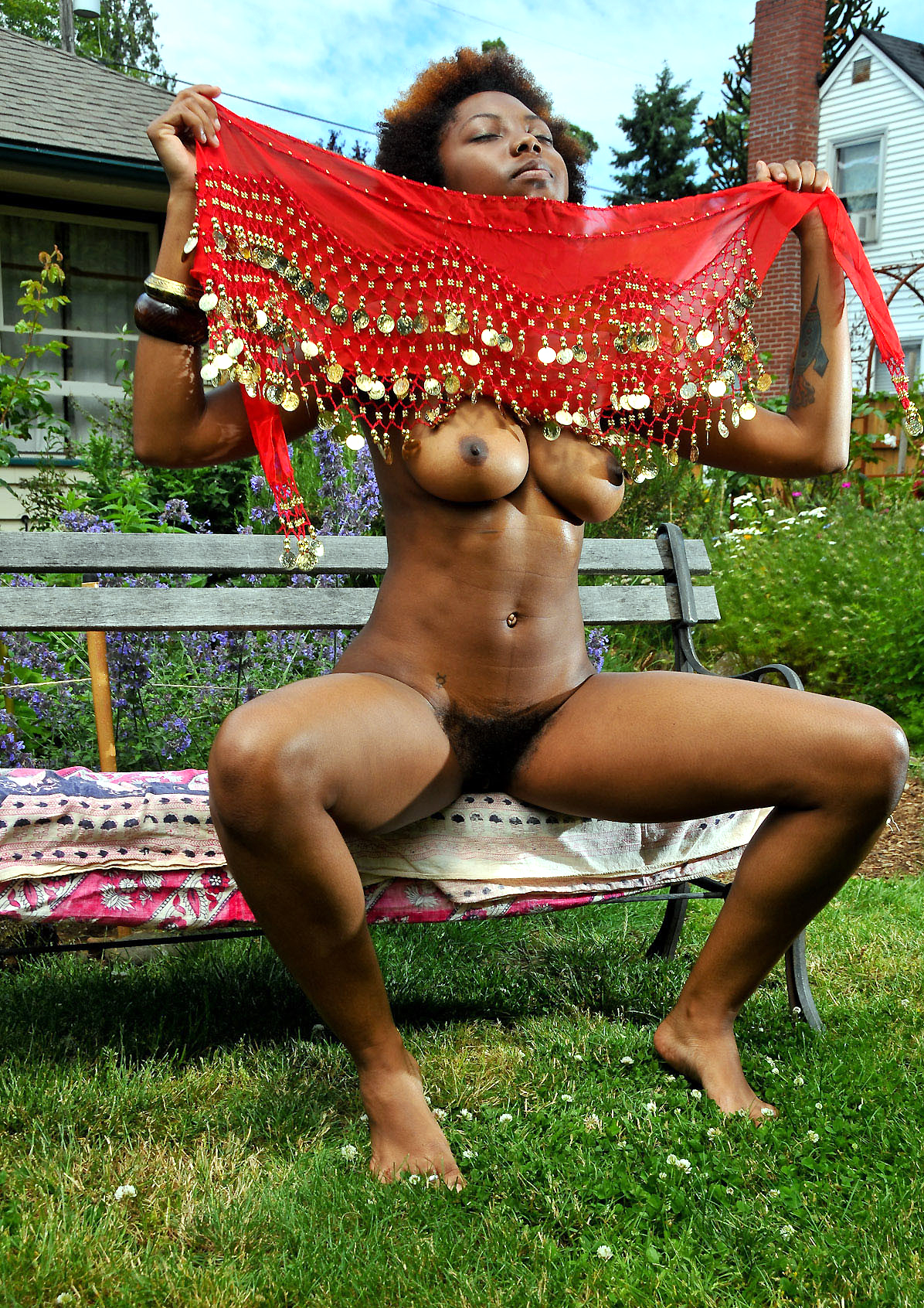 Cool ebony dame wants to be known as..