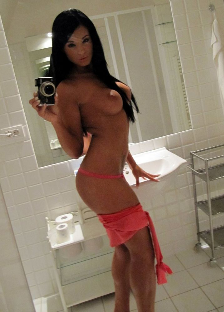 Huge-chested honey disrobing and..