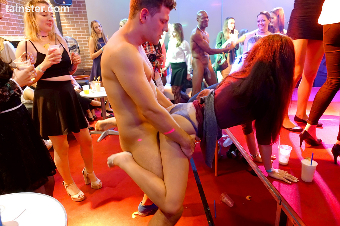 Damsels torn up by strippers at..